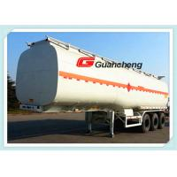Buy cheap Large Volume Lpg Fuel Pneumatic Tank Trailers , Carbon Steel / Stainless Steel Gas Tank Trailer from wholesalers