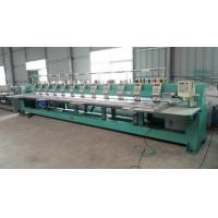 Buy cheap Refurbished Tajima 12 Head Embroidery Machine Second Hand Green Color TMFD-G912 from wholesalers