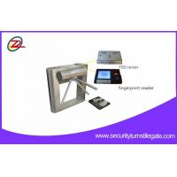 Buy cheap Fingerprint Reader ESD Turnstile Barrier Gates For Factory Entrance And Exit from wholesalers