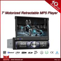 Buy cheap 7 In Dash TFT Motorized digital touch screen Car MP5 player,GPS(Model:V-7098TG) from wholesalers