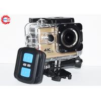 Buy cheap 2.0 Inch WIFI Action Camera With Remote Control , Bike Helmet Action Video Camera from wholesalers
