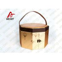 Buy cheap Long Handled Decorative Gable Boxes , Christmas Cardboard Boxes With Lids ODM from wholesalers