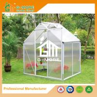 Low cost agriculture polycarbonate growhouse kits 4 39 x6 for Low cost house kits
