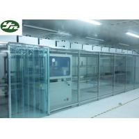 Buy cheap ISO Approved Clean Room Modular Soft Wall Aluminum Frame For OLED Production from wholesalers