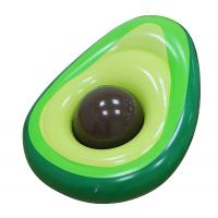 Buy cheap Outdoor Inflatable Avocado Pool Floats Lounge With Beach Ball from wholesalers
