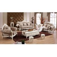 Buy cheap Antique Fabric Royal Living Room Home Velvet Sofa from wholesalers