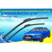 Buy cheap Front Window Auto Wiper Blades For Audi A4 A6 With Grade A Rubber Refill from wholesalers