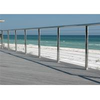 Buy cheap Outdoor / Indoor Stainless Steel Cable Railing System For Railing Handrail from wholesalers
