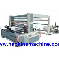 Buy cheap Self Adhesive Paper Roll Slitting Machine / Paper Rewinding Machine For POS Paper from wholesalers