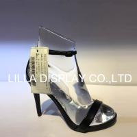Buy cheap Lilladisplay-AF-2 Roger vivier use–Medium heel shoes display crystal acrlic shoes stand for heels 5-7cm foot form shape from wholesalers