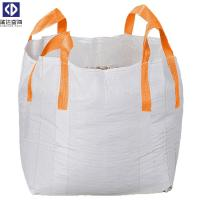 Virgin PP Material 1 Ton Tote Bags / Flexible Bulk Container For Packing