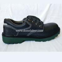 Buy cheap PU Injection Sole Composite Toe Security Shoes Puncture Resistant Footwear from wholesalers