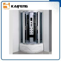 Buy cheap Luxury Room Steam Shower Bath Cabin Shower Spa Units With Spa Tub Sector Shape from wholesalers