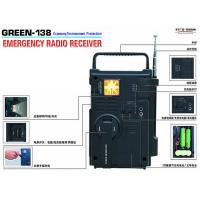 Buy cheap Emergency Radio Receiver  Green 138 from wholesalers