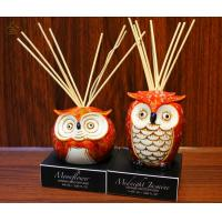 Buy cheap Scented Ceramic Fragrance Diffuser with Rattan Stick and Ceramic Owl from wholesalers