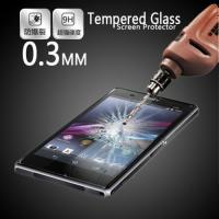 Buy cheap smartphone Shock proof screen protectors Sony Xperia Z2 L50w glass privacy film from wholesalers