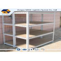 Buy cheap Light Duty Warehouse Pallet Racking , Industrial Metal Storage Shelving from wholesalers