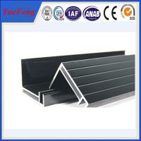 Buy cheap supply aluminum angle extrusion, high quality solar panels supporting rod aluminium profil product