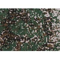 Buy cheap 0.23 Kg Waterproof Camouflage Polyester Fabric Weft Knit Customized from wholesalers