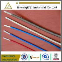 Buy cheap Top quality Color PVC/Nylon/TPU/PE 7x7 coated  Steel Wire cable china factory from wholesalers