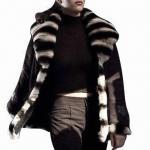 Buy cheap Women's Polyfill Coat/Women's Winter Jacket, Blue Fox Fur Trims from wholesalers
