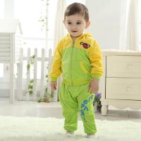 Buy cheap Brand baby clothes Men and women baby velvet suit baby clothes (0-3 Year) from wholesalers