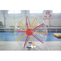 Buy cheap Transparent Inflatable Water Walking Ball / Water Rolling Ball For Fun product