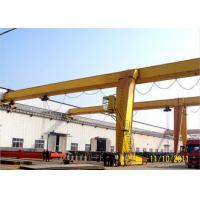 Buy cheap Traveling Goliath Semi Gantry Crane Electric Light Duty For Steel Stock Yard / Warehouse from wholesalers