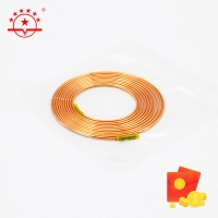 Buy cheap HVAC OD 3.69MM 3m Length Capillary Joint Copper Pipe from wholesalers
