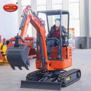 Buy cheap Good Price Mini High Work Efficiency ZM18 Hydraulic Excavator product