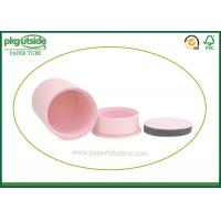 Buy cheap Pink Paperboard Cosmetic Packaging , Custom Paperboard Push Up Tubes from wholesalers