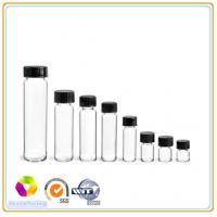 Buy cheap Glass Vials,Clear Glass Vials,Black Phenolic Cone Lined Caps from wholesalers