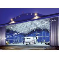 Buy cheap Airport Development Aircraft Hangar Buildings , Steel Airplane Hangars Constructions from wholesalers