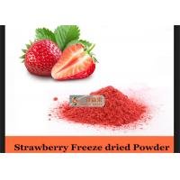 Buy cheap Nutritious Dried Strawberry Natural Pigment Powder Inspection Standard from wholesalers