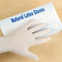 Buy cheap Latex Medical examination gloves from wholesalers