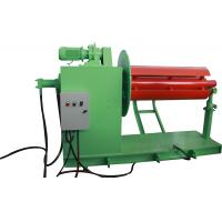 Hydraulic decoiler used to load steel roll