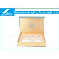 Buy cheap Cardboard Eco Friendly Magnetic Closure Gift Boxes Green For Cosmetics Packaging from wholesalers