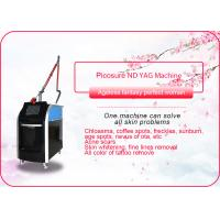 Buy cheap Birthmark / Freckle / Picosure Tattoo Removal Machine / Q Switch Nd Yag Laser Machine from wholesalers