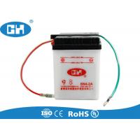 Buy cheap White Small 6 Volt Motorcycle Battery , Custom 6v Sealed Lead Acid Battery from wholesalers