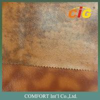 Buy cheap Synthetic Leather Fabric 0.6mm - 1.2mm With Plain , Printing , Shiny , Dots product