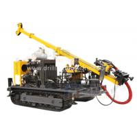 Buy cheap Yellow Fully Hydraulic Drilling Rig Split Type Strong Disintegration Capacity from wholesalers