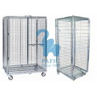 Buy cheap 5pcs Wire Mesh Enclosures Delivery Roll Cages Power Coated Surface from wholesalers