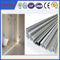 China New! auto aluminum radiator thin walled aluminium tube, aluminum led channel profiles on sale