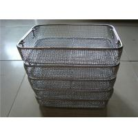 Buy cheap Sterilisation DIN  Stainless Steel Wire Basket Tray For Medical Or Shopping from wholesalers