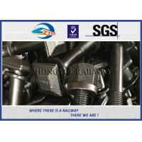 Buy cheap 5.6 grade Railway Square Head Bolt & Screw With Plain / HDG treatment from wholesalers