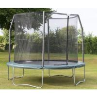 Buy cheap Park amusement 12FT heavy duty black Jumping Trampoline and enclosure from wholesalers