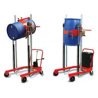 Buy cheap 300kg drum lifter, CA-E301 manual oil drum truck for emptying and transporting drums from wholesalers