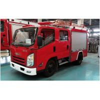Large Size Water Tanker Fire Truck 4x2 Drive With 100W Alarm Control System