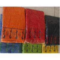 Buy cheap 100% cotton jacquard velour beach towels / cotton beach towels from wholesalers