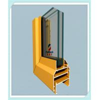 Flat Open Window Aluminum Profile Strong Tensile Resistance With Milling / Drilling